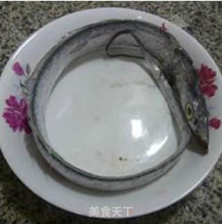 咸肉蒸带鱼的做法_咸肉蒸带鱼怎么做_花鱼儿的菜谱