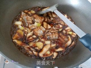 香菇烧带鱼的做法_香菇烧带鱼怎么做_叶子的小厨的菜谱