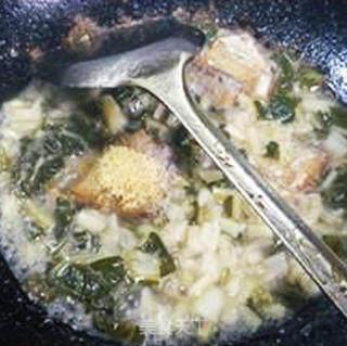 白菜咸齑带鱼的做法_白菜咸齑带鱼怎么做_花鱼儿的菜谱
