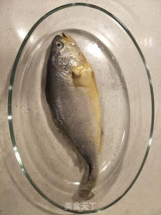 葱香大黄鱼的做法_葱香大黄鱼怎么做_yangxr的菜谱