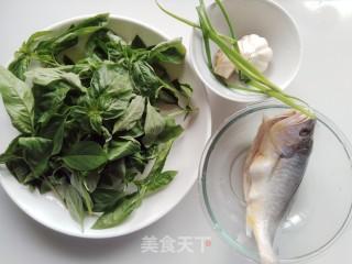 罗勒烧黄鱼的做法_罗勒烧黄鱼怎么做_小耿妈妈的菜谱
