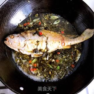 雪菜烧黄鱼的做法_雪菜烧黄鱼怎么做_天国的女儿的菜谱