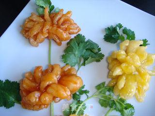 香橙双色菊花鱼的做法_香橙双色菊花鱼怎么做_菜谱