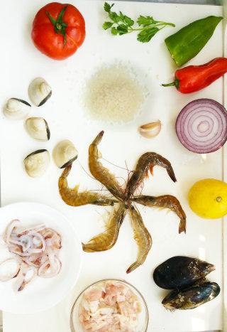 西班牙海鲜饭的做法_西班牙海鲜饭怎么做_Nicole706的菜谱