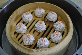 虾肉珍珠丸子的做法_虾肉珍珠丸子怎么做_英英菜谱的菜谱