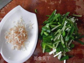 韭菜炒虾米的做法_韭菜炒虾米怎么做_乐:在吃的菜谱