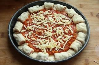 缤纷卷边披萨的做法_【长帝烤箱试用报告】——缤纷卷边披萨_缤纷卷边披萨怎么做_菜谱