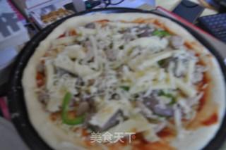 海陆双享披萨的做法_海陆双享披萨怎么做_菜谱