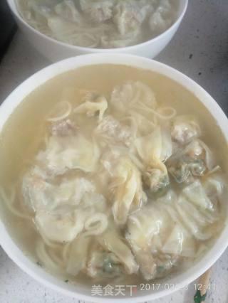 馄饨清汤面的做法_馄饨清汤面怎么做_蔡肴的菜谱
