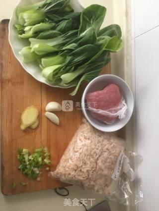 肉丝油菜面的做法_肉丝油菜面怎么做_美厨娘S的菜谱