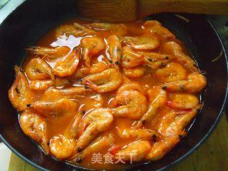 茄汁焖大虾的做法_茄汁焖大虾怎么做_菜谱