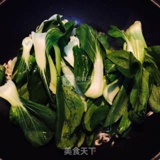 虾米油菜的做法_虾米油菜怎么做_喵饿了的菜谱