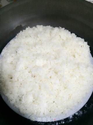 糯米饭的做法_糯米饭怎么做_媄╰☆╮蓉的菜谱