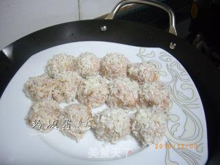 珍珠丸子的做法_珍珠丸子怎么做_玲珑煮妇的菜谱
