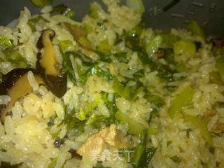 香菇虾米芥菜饭的做法_香菇虾米芥菜饭怎么做_七仔爱炒饭的菜谱