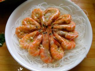 蒜蓉粉丝蒸虾的做法_蒜蓉粉丝蒸虾怎么做_菜谱