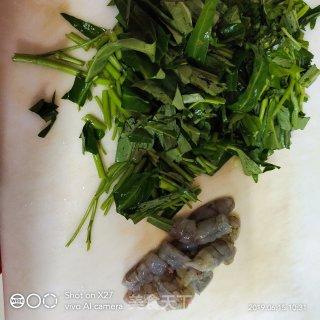 空心菜鲜虾粥的做法_空心菜鲜虾粥怎么做_逝去的爱情的菜谱