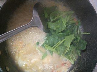 鲜虾青菜玉米面条的做法_鲜虾青菜玉米面条怎么做_lengnina的菜谱