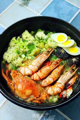 海底捞菜花煲的做法_海底捞菜花煲怎么做_紫然_BsGVMV的菜谱