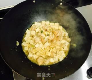 鲜虾豆腐的做法_鲜虾豆腐怎么做_碗里姜膳的菜谱