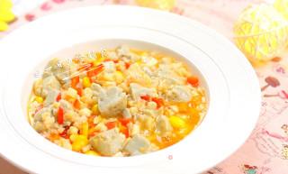 鸡蛋豆腐鲜虾羹的做法_鸡蛋豆腐鲜虾羹怎么做_一日五餐辅食的菜谱