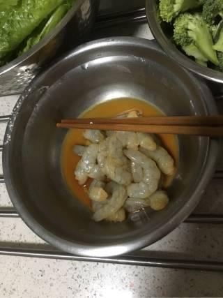 西兰花大虾的做法_西兰花大虾怎么做_若宁若平的菜谱