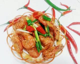 椒盐脆皮虾的做法_椒盐脆皮虾怎么做_美凤厨房的菜谱