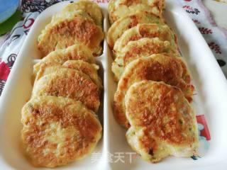 杂粮时蔬虾肉煎饼的做法_杂粮时蔬虾肉煎饼怎么做_心颜ai尚厨的菜谱