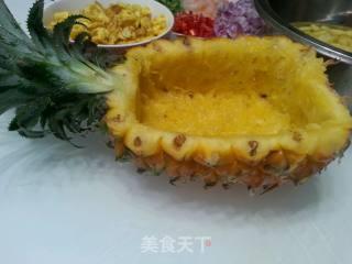 菠萝炒饭的做法_菠萝炒饭怎么做_安然(小李)的菜谱
