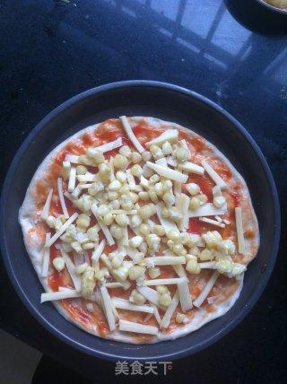 菠萝培根披萨的做法_菠萝培根披萨怎么做_若如出2010的菜谱
