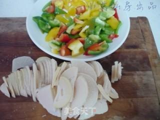 彩椒冬笋炒虾仁的做法_彩椒冬笋炒虾仁怎么做_小艾厨娘的菜谱