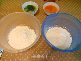 彩色水饺的做法_彩色水饺怎么做_maylovef的菜谱