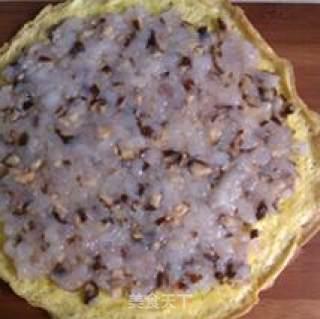 鲜虾鸡蛋卷的做法_鲜虾鸡蛋卷怎么做_请叫我小蜜的菜谱