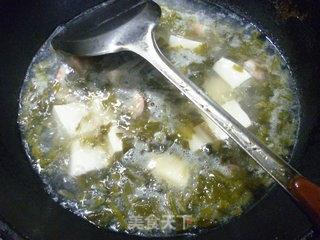 咸菜虾仁豆腐汤的做法_咸菜虾仁豆腐汤怎么做_花鱼儿的菜谱