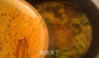 虾仁小白菜疙瘩汤的做法_虾仁小白菜疙瘩汤怎么做_菜谱