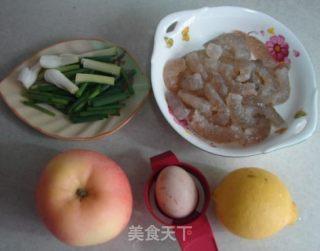香脆苹果虾仁的做法_香脆苹果虾仁怎么做_菜谱