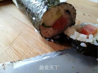 寿司的做法_炎炎夏日,吃寿司!я люблю суши!_寿司怎么做_菜谱