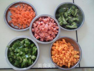 鲜虾杂蔬焗饭的做法_美味的鲜虾杂蔬焗饭_鲜虾杂蔬焗饭怎么做_菜谱