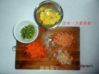 扬州炒饭的做法_山寨版后厨中的扬州炒饭_扬州炒饭怎么做_菜谱