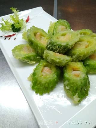 煎酿苦瓜的做法_煎酿苦瓜怎么做_肖菊坡的菜谱
