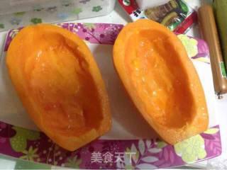 芝士海鲜木瓜船的做法_芝士海鲜木瓜船怎么做_水晶咕噜肉……的菜谱