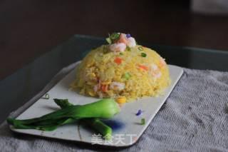 菠萝炒饭的做法_菠萝炒饭怎么做_刘少鹏的菜谱