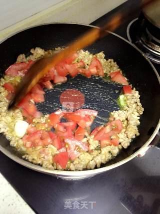 海鲜意式肉酱面的做法_海鲜意式肉酱面怎么做_.殘陽╮.°的菜谱