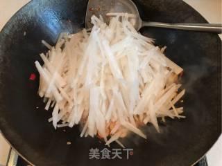 南极磷虾炒萝卜丝的做法_超级下饭的~南极磷虾炒萝卜丝_南极磷虾炒萝卜丝怎么做_飞燕飘舞的菜谱