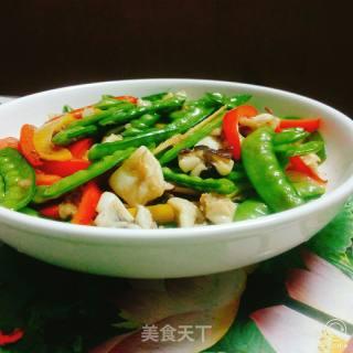 章鱼炒荷兰豆的做法_章鱼炒荷兰豆怎么做_天涯豆豆的菜谱