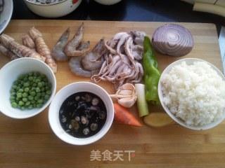 墨汁炒饭的做法_家常墨汁炒饭_墨汁炒饭怎么做_黑犀侠的菜谱