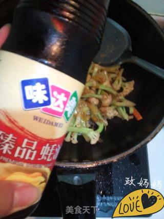 章鱼炒菜花的做法_【山东】章鱼炒菜花_章鱼炒菜花怎么做_政妈妈的菜谱
