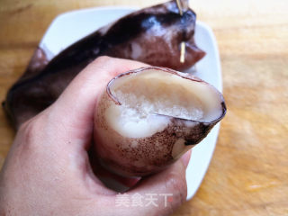 鱿鱼糯米饭的做法_鱿鱼糯米饭怎么做_石榴树2008的菜谱