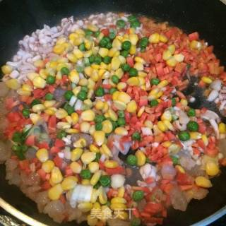 海鲜炒饭的做法_海鲜炒饭怎么做_米拉Miira的菜谱