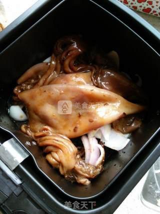 豆酱鱿鱼的做法_豆酱鱿鱼怎么做_牛妈厨房的菜谱